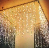 INDOOR LED ICICLE OR CURTAIN