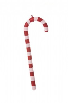 Candy Cane White With Red Stripes 600mm