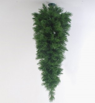 Christmas Tree Upside Down Hanging Style Slim 208 Tips 1.2M
