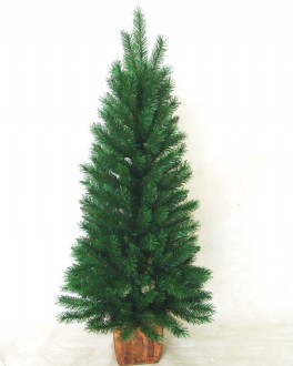 Christmas Tree with square pot base. 1.2m (4 FT)