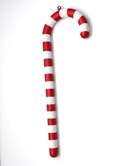 Candy Cane Red And White Vertical Stripes 900mm