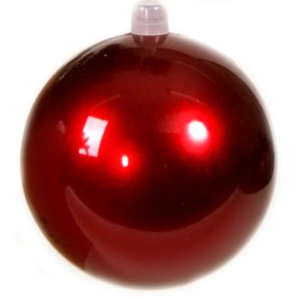 Bauble candy apple red.