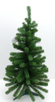 Christmas Tree Counter Top With Plastic Stand 600mm